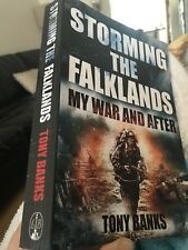 storming the falkands my war and after tony banks