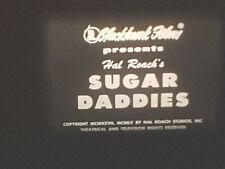 LAUREL AND HARDY SUGAR DADDIES 1926 STD 8 B/W SILENT 400FT CINE 8MM FILM