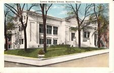 1917 The Lawson McGhee Library in Knoxville, TN Tennessee PC