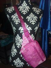 Vera Bradley Lighten up Belt Bag Stamped Paisley Pink Fanny Pack Crossbody