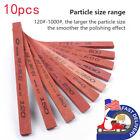 10pcs Grit Polishing Sharpening Stone Knife Sharpener Oilstone 120 to 1000