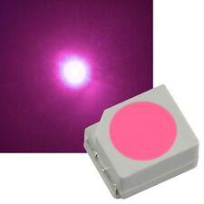 100 pièce rose SMD LEDs PLCC-2 3528 / rose Mini-LED SMD
