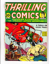 Thrilling Comics   4        Scarce early Nedor Issue