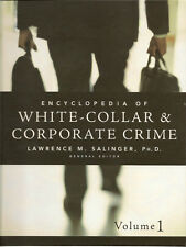 Encyclopedia White Collar Corporate Crime Book Volume 1 EC