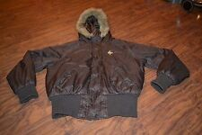 F7- South Pole Faux Fur Hooded Jacket Size 1X