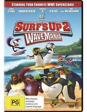 Surf's Up 2 - Wave Mania (DVD, 2017) Brand New & Sealed R4