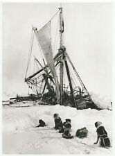"""*Postcard-""""Endurance w/Dogs Looking"""" S Pole"""" *Scott's Antarctic Expedition"""" (Q1"""