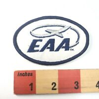 Oval EAA EXPERIMENTAL AIRCRAFT ASSOCIATION Airplane Patch Aviation 91C3