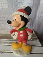 Mickey mouse Xmas statue figurines