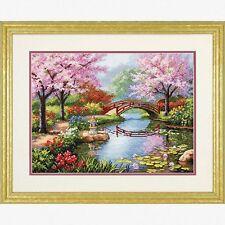 11CT Printed Cross Stitch Kits Embroidery Japanese Geisha Beauty 103x73cm