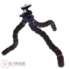 Flexi Tripods Pod Flexible Mini Tripod - DSLR, DSC, Camcorder black/Red