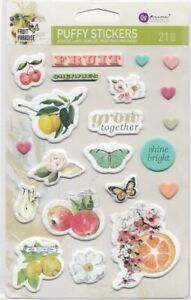 Prima - Fruit Paradise -  Puffy Stickers 3D Embellishment