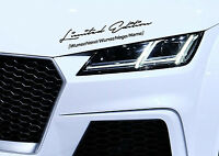 Limited Edition WUNSCHTEXT/WUNSCHLOGO/NAME Motorsport Aufkleber Sticker Folie