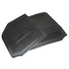 Spitfire GT6 Footwell mats Triumph logo Moulded rubber Black Pair 1962-1980 NEW