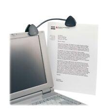 Kensington FlexClip Portable Copyholder, Black, Each