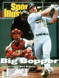 1992 Mark McGwire Oakland A's Sports Illustrated