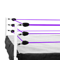 Purple Ring Ropes for Wrestling Action Figure Ring by Figures Toy Company