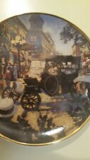 The Ford Model T Collectors Plate By Franklin Mint Heirloom collection