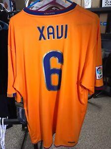 Nike XXL 2XL 2006 2007 2008 Xavi Barcelona Away Shirt Camiseta Kit Jersey NWT