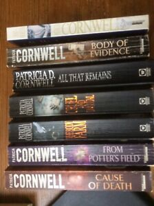 Patricia Cornwell Kay Scarpetta Book Bundle, Books 1 To 7