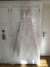⚜ todos soñamos vestido de novia ⚜ a-línea sposa Toscana Ivory 36 s vintage nuevo Bridal