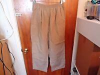 """Butter - Soft Size XL Beige / Tan Scrubs Pants """" GREAT PAIR """""""