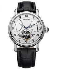 Seagull Date Day Men's Automatic Watch Self Winding Flywheel  Sapphire 819.316
