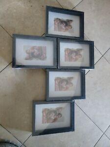 Photo Frame Ideas Black Shadow Box 5x7 6 PCS Free shipping