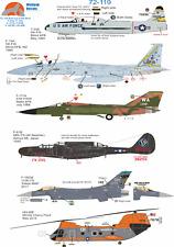 Wolfpak Decals 72-119 Bolt, Lockheed Douglas Dynamics Northrop Falcon Boeing