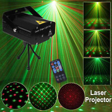 Stage Lighting Mini R&G Voice-Activated Laser Projector Disco Party Light Remote