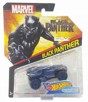 New 2017 Hot Wheels Marvel Black Panther Character Car