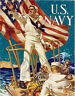 Hailing You for the U.S. WWI Navy Recruitment Military Poster 1918 Wall Art