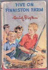 FIVE ON FINNISTON FARM  - BY ENID BLYTON,   1965
