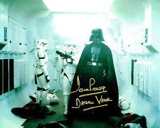Dave PROWSE SIGNED Autograph Darth VADER Star Wars 10x8 Photo E AFTAL COA