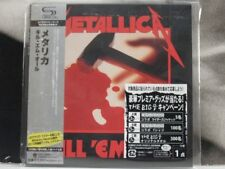 METALLICA - KILL 'EM ALL CD JAPAN WITH OBI VINYL REPLICA COME NUOVO LIKE NEW