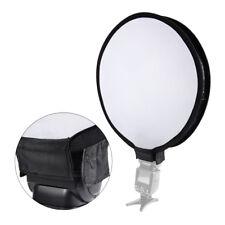 "16"" Mini Portable Round Camera Speedlight Flash Speedlite Diffuser Softbox Lf787"