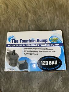 Danner - The Fountain & Statuary Water Pump-SP-120 #01713 120GPH ** BRAND NEW **