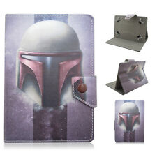 """Universal Buckle Star Wars Stand Folio Cover Leather Cases For 7"""" Tablet+Stylus"""