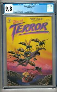 Tales of Terror #1 (1985) CGC 9.8  White Pages  Bissette - Vincent - Wheatley