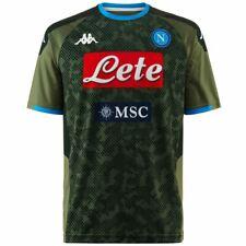 Kappa T-shirt sportiva Uomo KOMBAT EXTRA NAPOLI Calcio sport CNA Camicia
