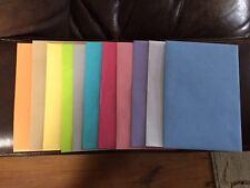 "Various Colored Envelopes ~ 10 lot ~ 6"" X 8"" ~ Hallmark"