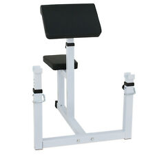 440Lb Adjustable Arm Curl Bench Roman Chair Machine Fitness Arm Training Station