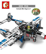 Building blocks New Empire Fighter Building Bricks boy DIY 330PCS