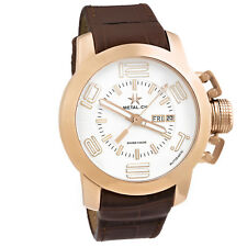 Metal.CH Grand Cassic Automatic Rose Gold Mens Watch Swiss    NO RESERVE AUCTION