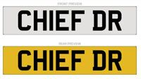 Private Cherished Registrations, Chief Dr, Consultant, CEO, Boss, CHIEF DR
