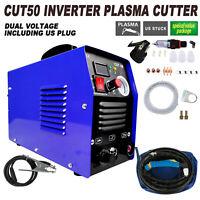 Plasma Cutter Cut 50 Inverter 50amp 110V/220V Voltage Cutting Machine
