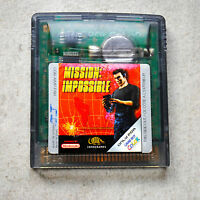 Jeu MISSION IMPOSSIBLE pour Nintendo Game Boy Color