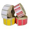 Verkauf Etiketten Thermodirekt Rolle 1000 Stück 32 x 19 mm   Reduziert Rot Gelb