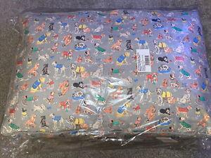 Cath Kidston Novelty Dog Printed Memory Foam Mattress Bed Large 90cm x 60cm