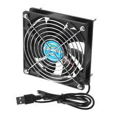 Usb вентилятор охлаждения бесшумный вентилятор для компьютерного корпуса ПК процессор чехол TV Box 5 В 12*12*5.5cm
